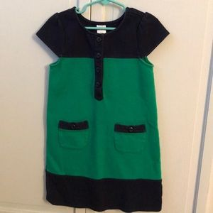 Gymboree Cotton Blue & Green Girl's Dress